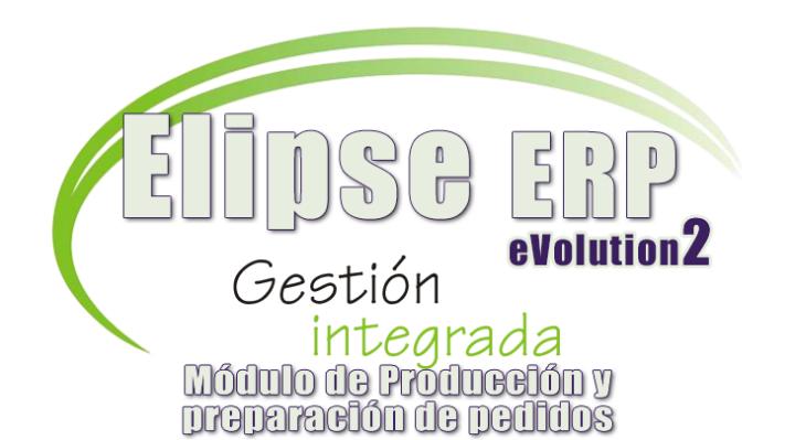 Presentación Elipse ERP Evo2. Módulo de Producción y de Preparación de Pedidos.